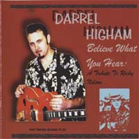CD: Darrel Higham - Belive What You Hear