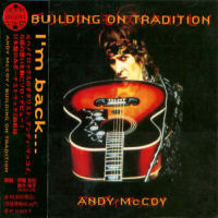 Andy McCoy - Building On Tradition - CD - Cover version 3 -Japan release