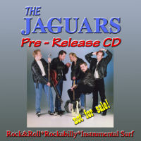 CD: The Jaguars - Pre-release