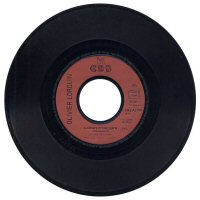 "Olivier Lorquin - 7"" single - Label"
