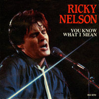 "Ricky Nelson - 7"" single - You Know What I Mean"
