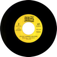"Rock Nalle - En go' gammel rocker - 7"" single"