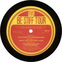 LP: Be Stiff Route 78 Tour - Label A-side