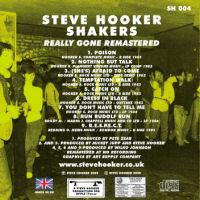 Steve Hooker - Really Gone - CD - Remastered Limited Edition